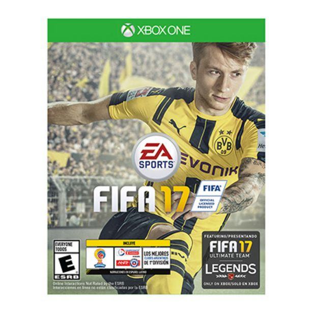 Oferta de Juego para Xbox One Fifa 2017 por $950