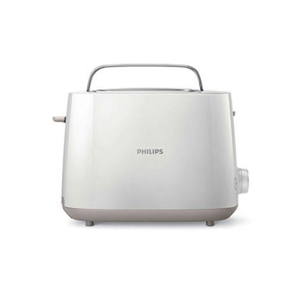 Oferta de Tostadora Philips HD2581/00 Blanco por $3989