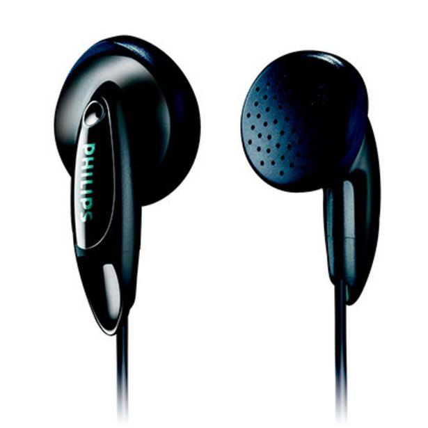 Oferta de Auriculares Philips SHE1350/00 Negro por $475