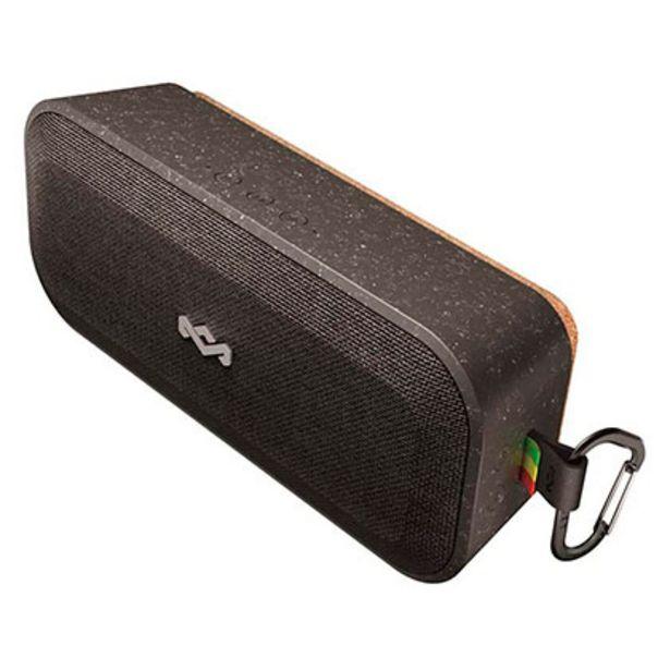 Oferta de Parlante De Audio Portátil Bluetooth No Bounds Xl Signature Black House Of Marley EM-JA017-SB por $20159