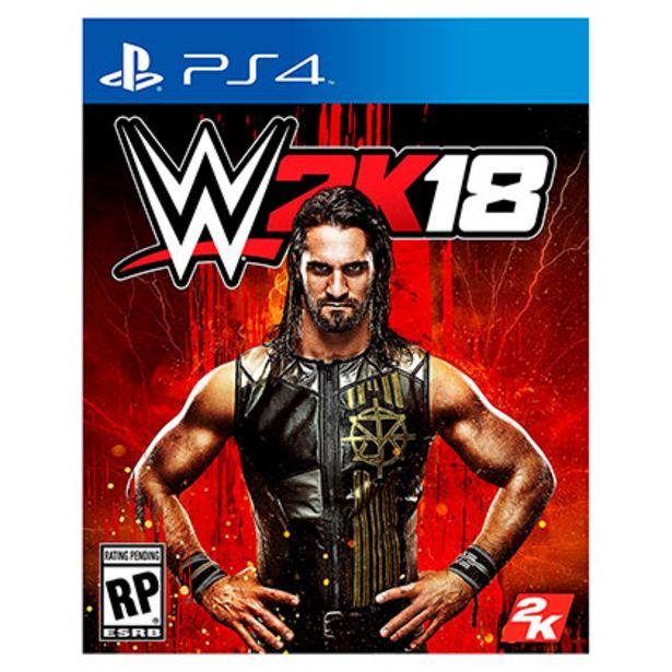 Oferta de Juego para Playstation 4 WWE 2K18 por $1999