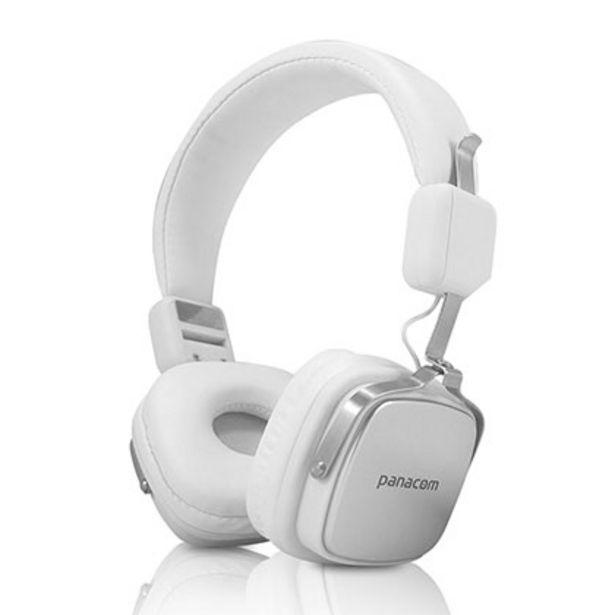 Oferta de Auriculares Panacom Bl-1364hs Blanco por $3329