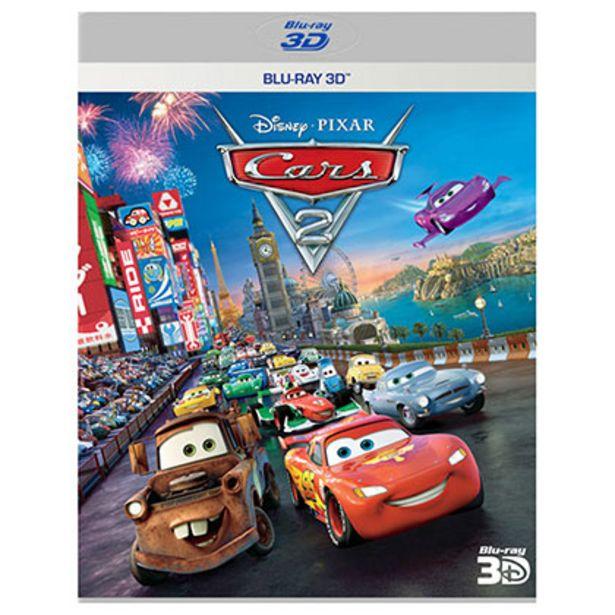 Oferta de Bluray Disney Cars 2 3d por $60