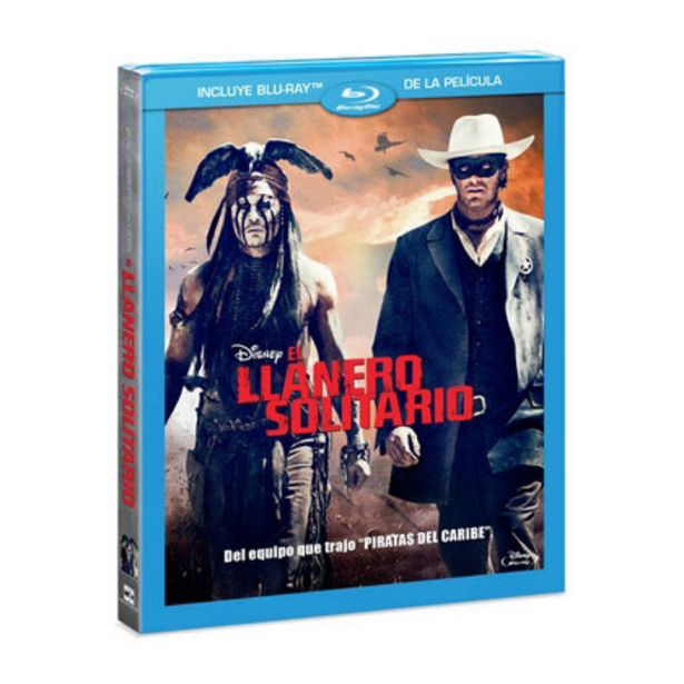 Oferta de Disney The Lone Ranger por $72