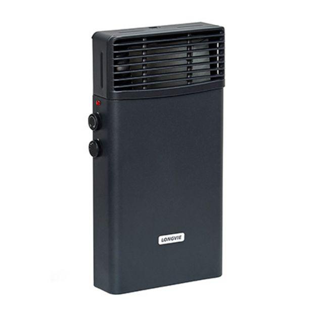 Oferta de Calefactor Eléctrico Con Termostato De Ambiente 2000 W Longvie EE2K Grafito por $12399