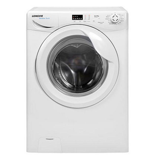 Oferta de Lavarropas Automático A++ Sensitive Touch 6,5 Kg 800 Rpm Longvie L16508 Blanco por $50499