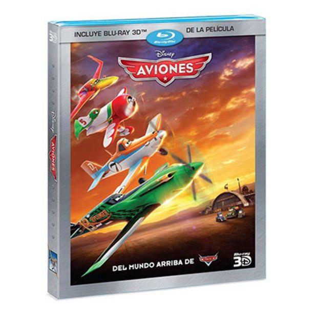 Oferta de Bluray Disney Aviones 3d por $85