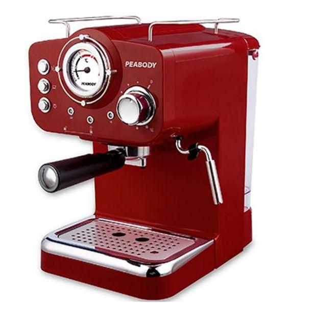 Oferta de Cafetera Express Con Espumador Por Vapor 20 Bar Peabody PE-CE5003R por $24999