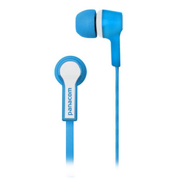 Oferta de Auriculares Panacom HP-9333 Azul por $570