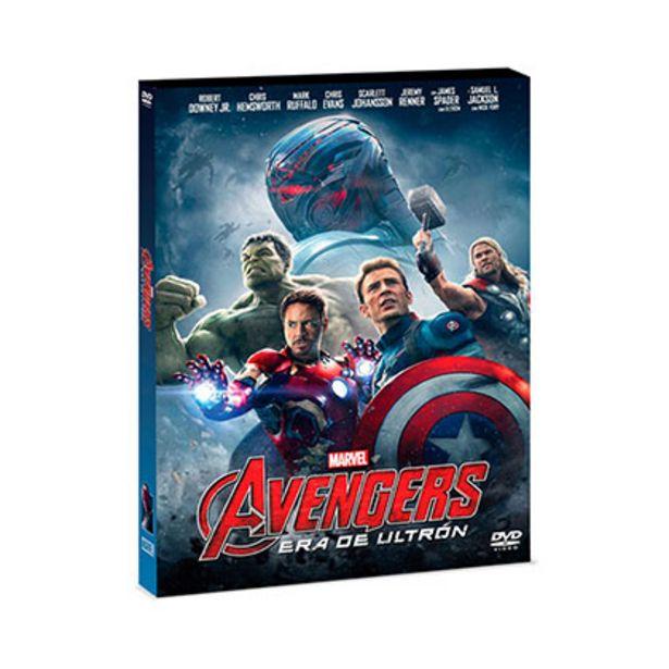 Oferta de Dvd Disney Avengers Era de Ultron por $69