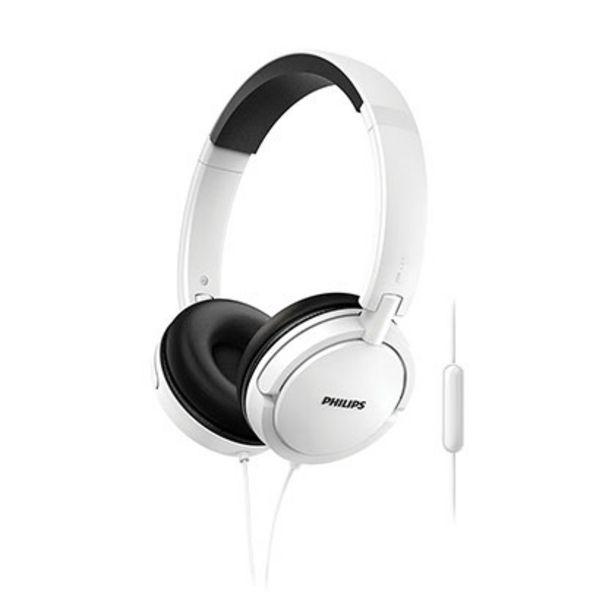 Oferta de Auricular Philips Estilo DJ SHL5005WT/00 por $1709