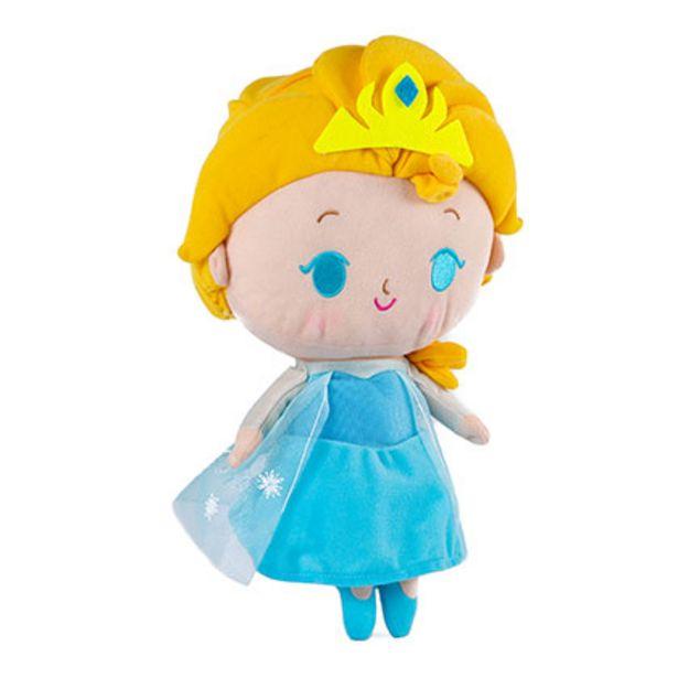 Oferta de Elsa Peluche Con Luz y Sonido 35 Cm Frozen 8504 por $2599
