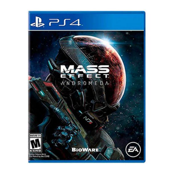 Oferta de Juego para Play Station 4 Mass Effect Andromeda por $1139