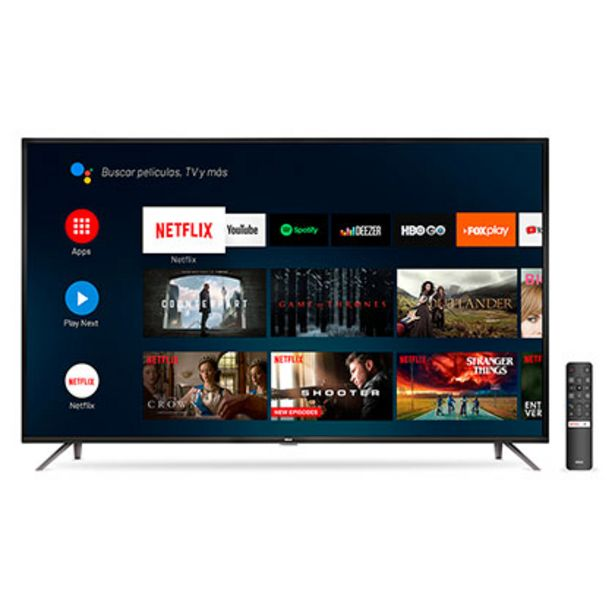 "Oferta de Tv Smart Led 50"" Ultra Hd 4K Android Bluetooth Control Por Voz Rca X50ANDTV por $56049"