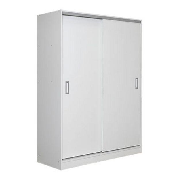 Oferta de Placard 2 Puertas Makenna RO135-B Blanco por $13909