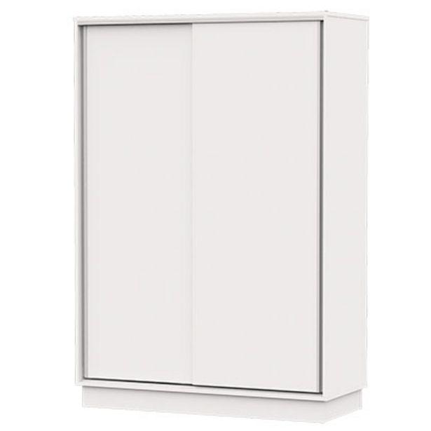 Oferta de Placard 2 Puertas Makenna PE135-B Blanco por $16329
