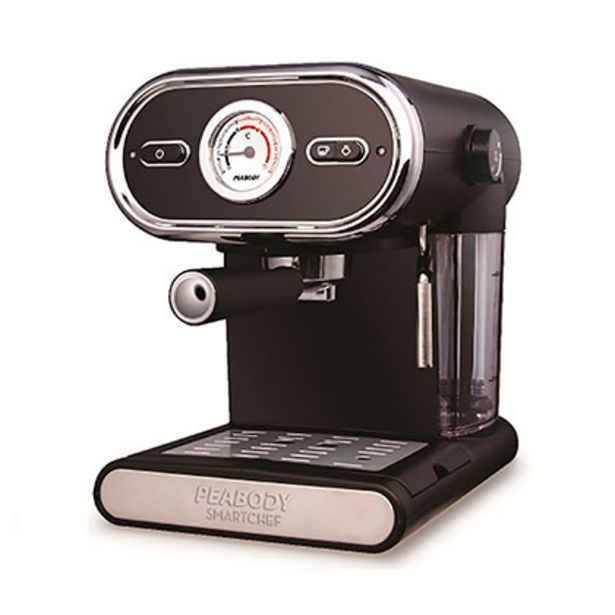 Oferta de Cafetera Express Con Espumador Por Vapor 15 Bar Peabody PE-CE5002 por $19999