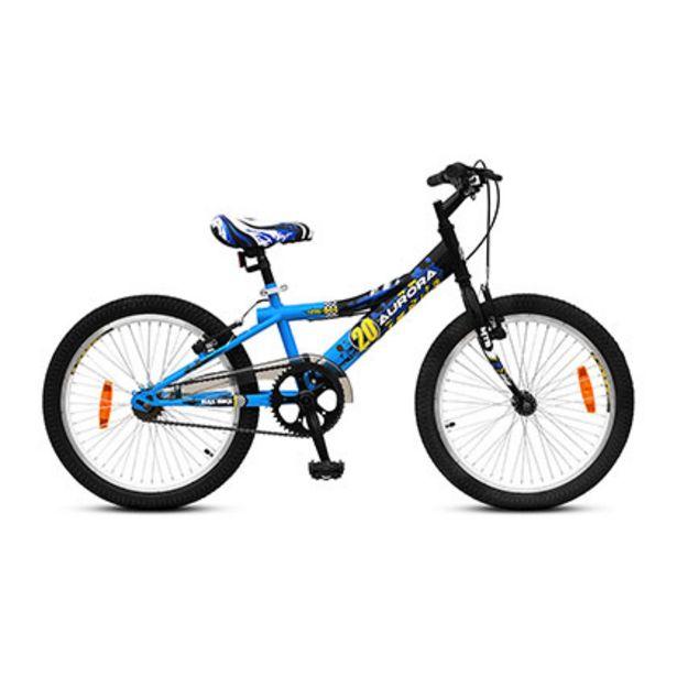 Oferta de Biciccleta Rodado 20 Aurora NAS-Bike 20 Azul por $13669
