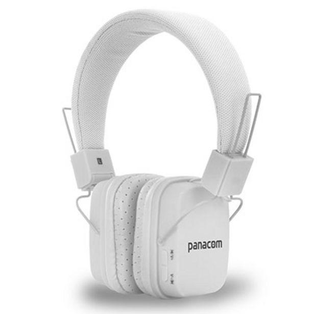 Oferta de Auriculares Panacom Bl-1353hs Blanco por $2849