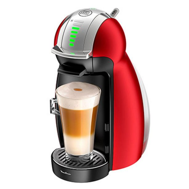 Oferta de Cafetera Moulinex Genio 2 Rojo por $22999