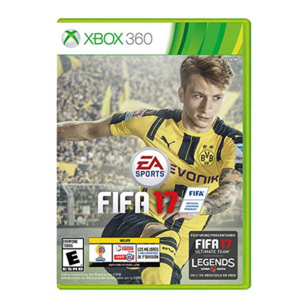 Oferta de Juego para Xbox 360 Fifa 2017 por $950