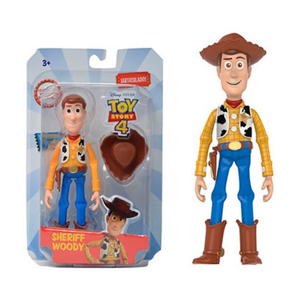 Oferta de Woody Muñeco Articulado 14,3 Cm Toy Story 4 Disney 5614 por $1599