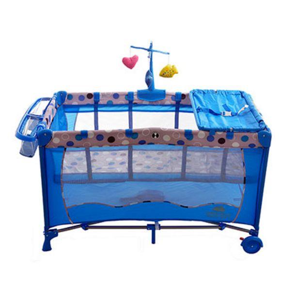 Oferta de Cuna Plegable Anush FW2 Azul por $4939