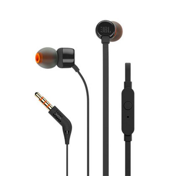 Oferta de Auriculares In EAR JBL T110 por $1329