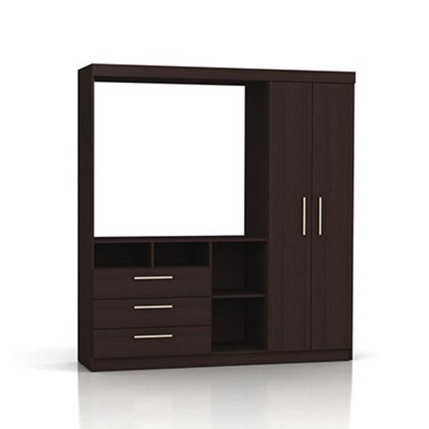 Oferta de Mueble De Comedor Modular Para Tv 709/19 1,66 Mts Makenna Wengue por $14729