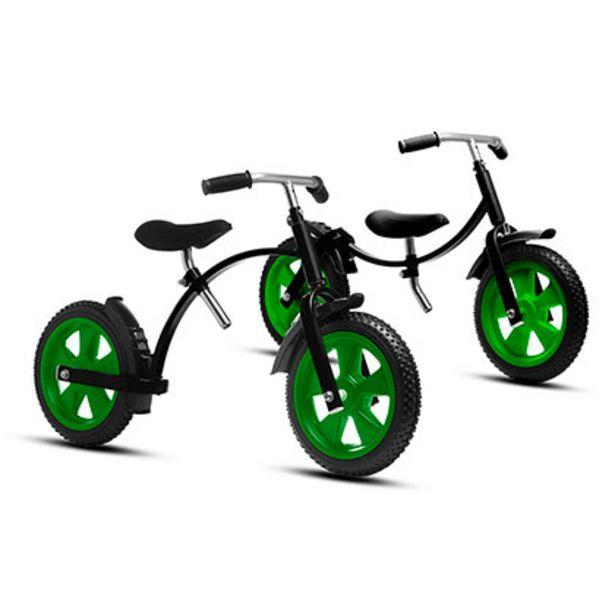 Oferta de Bicicleta Sin Pedales Jeico ENT-50526 Negro Con Verde por $4749