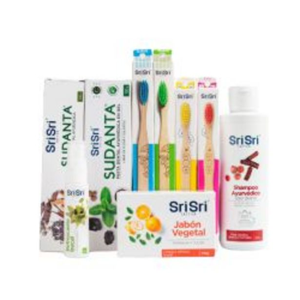 Oferta de Kit Higiene Familiar Sri Sri por $2199