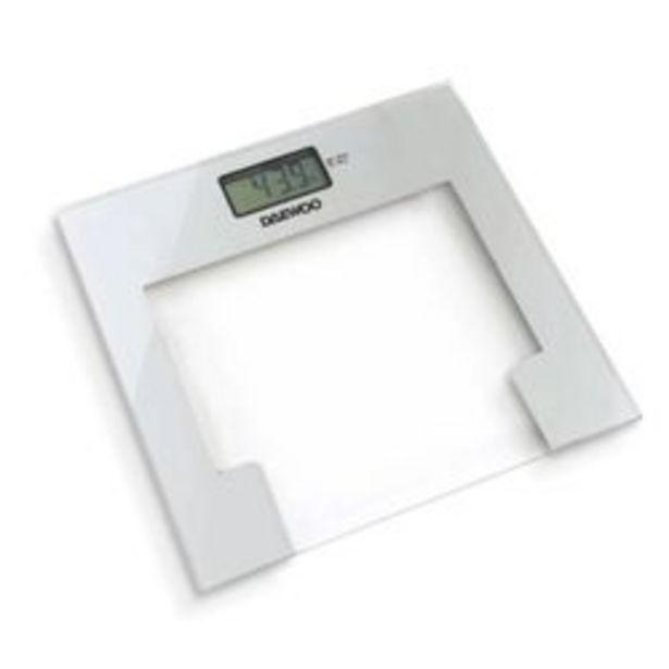 Oferta de Balanza Digital de baño Daewoo por $3299