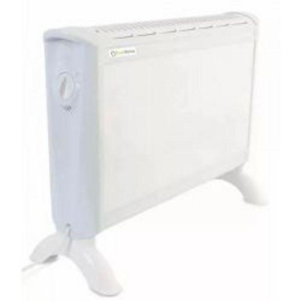 Oferta de Calefactor Eléctrico Panel Estufa 3 Niveles por $3599