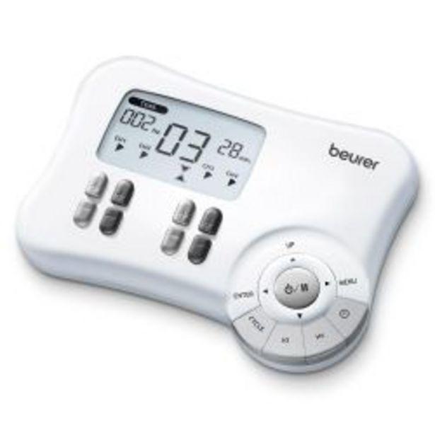Oferta de Electroestimulador 3en1 P/dolor/musculos/masaje Beurer Em80 por $13335