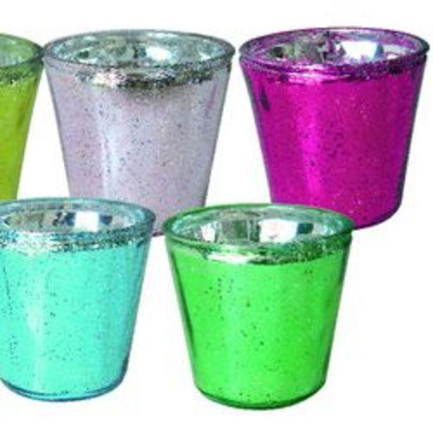 Oferta de Macetero Nouvelle Cuisine de Vidrio de 13.5 X 12 cm Colores Surtidos 1113325 por $879
