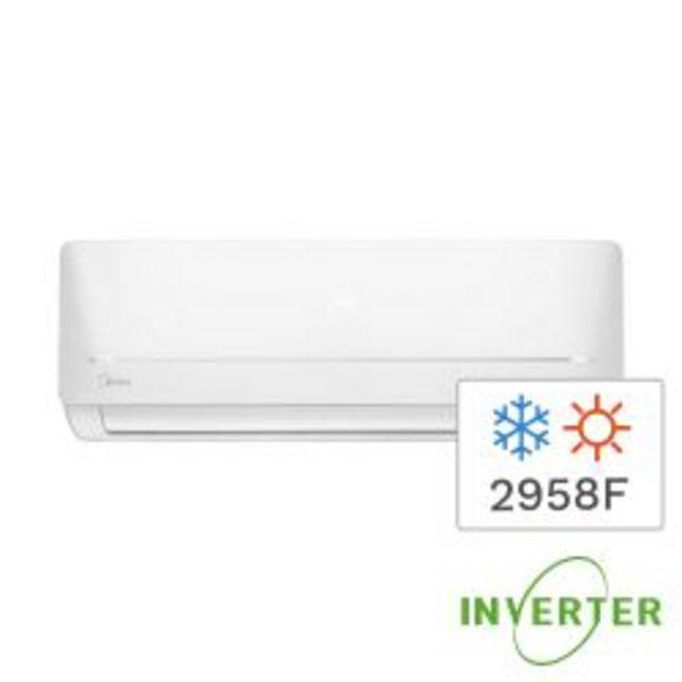 Oferta de Aire Acondicionado Split Inverter Frío/Calor Midea 2958F 3440W MSABIC-12H-01F por $49999