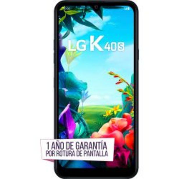Oferta de Celular Libre LG K40s Black por $18999