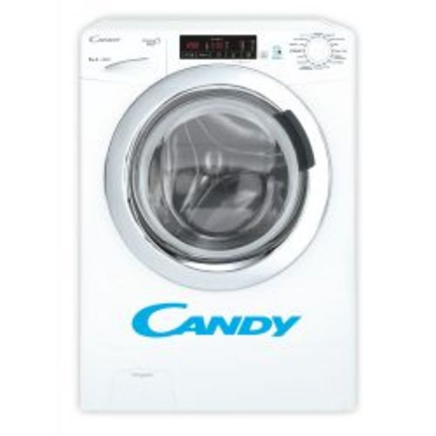 Oferta de Lavarropas Carga Frontal Candy 8 Kg 1200 RPM GVS128 por $48999
