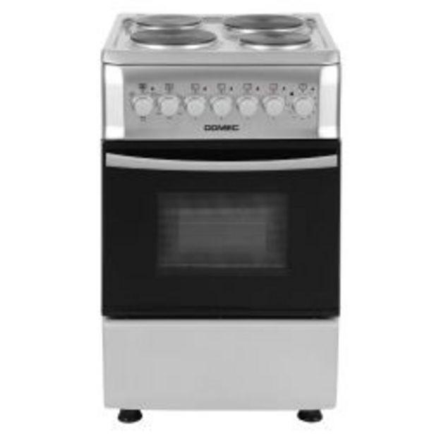 Oferta de Cocina Eléctrica Domec CEF5 50cm por $87999