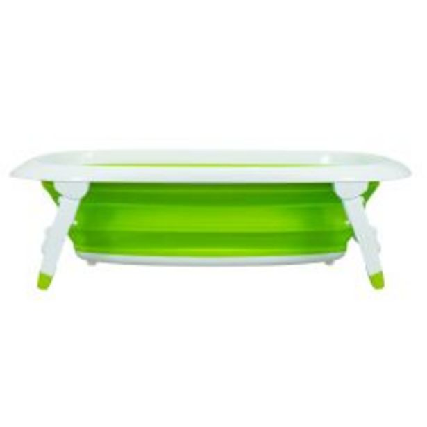 Oferta de Bañera Bebitos 66811 S Verde Plegable por $5449