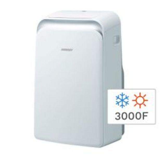 Oferta de Aire Acondicionado Portátil Frío Calor Surrey 551IDQ1201 3000F 3500W por $39999