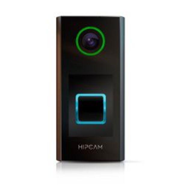 Oferta de Timbre para Puerta Smart con Cámara de Seguridad Wifi Full HD Hipcam Doorbell Pro por $13299