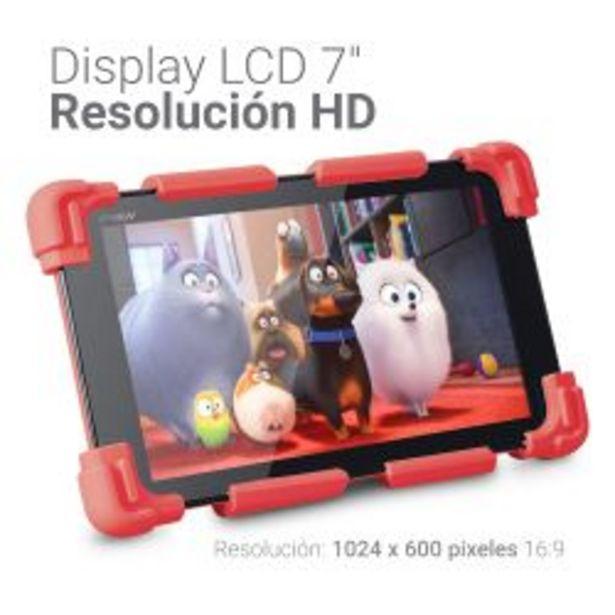 Oferta de Tablet Neon Kids 16GB Rojo por $9899