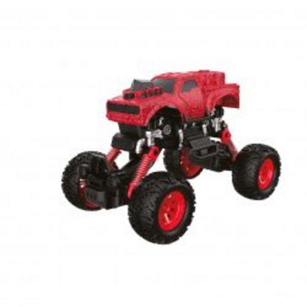 Oferta de Autito de Juguete Off-Road Choches a Fricción c/Amortiguación Explorer Fan 7580 Rojo por $2011