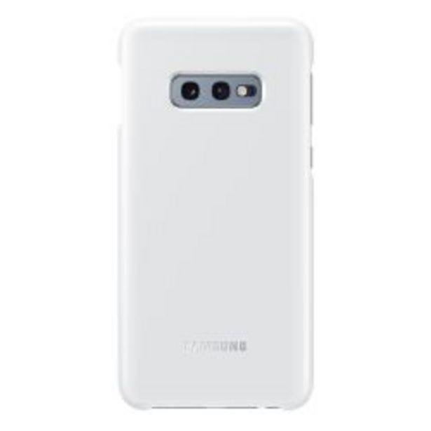 Oferta de Funda Samsung LED Back Cover S10e White por $3199