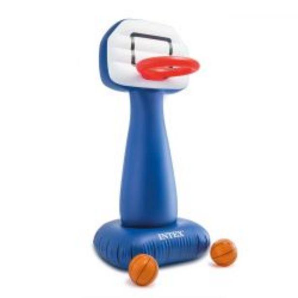 Oferta de Aro de Basket Inflable Intex con Pelotas por $6339