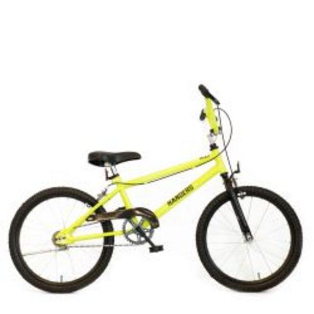 Oferta de Bicicleta Infantil BMX Randers Rodado 20 Amarillo por $32999