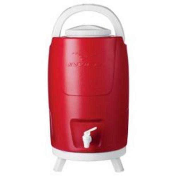 Oferta de Bidon Plastico con Canilla y Patas 12 Lts Rojo 1090511 por $5759
