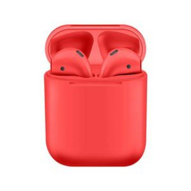 Oferta de Auriculares I12 TWS The Game House Rojo por $2109