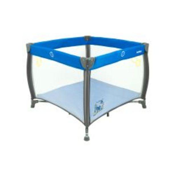 Oferta de Corralito Bebitos MB 18 Rezi Azul por $9199